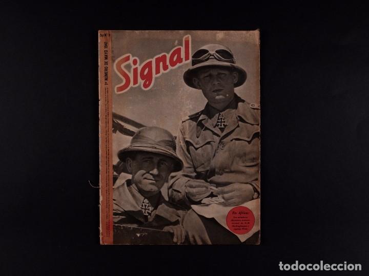 REVISTA SIGNAL 1941 Nº 9 (Coleccionismo - Revistas y Periódicos Modernos (a partir de 1.940) - Otros)