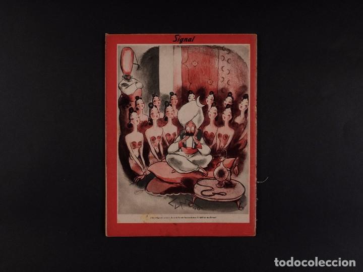 Coleccionismo de Revistas y Periódicos: REVISTA SIGNAL 1941 Nº 9 - Foto 2 - 68112889