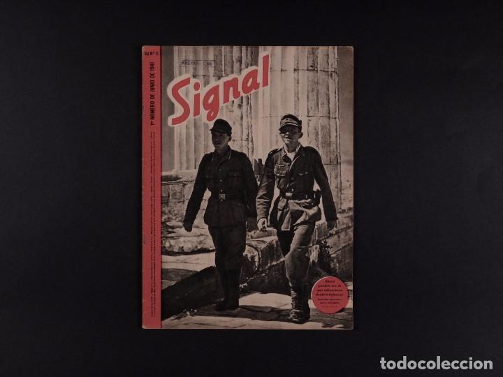 REVISTA SIGNAL 1941 Nº 11 (Coleccionismo - Revistas y Periódicos Modernos (a partir de 1.940) - Otros)