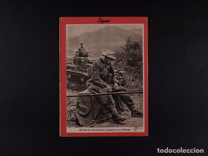 Coleccionismo de Revistas y Periódicos: REVISTA SIGNAL 1941 Nº 11 - Foto 2 - 68113181