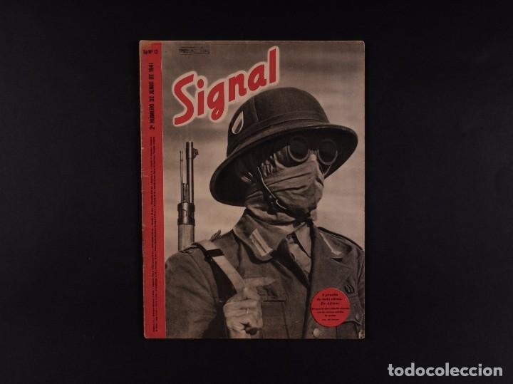 REVISTA SIGNAL 1941 Nº 12 (Coleccionismo - Revistas y Periódicos Modernos (a partir de 1.940) - Otros)