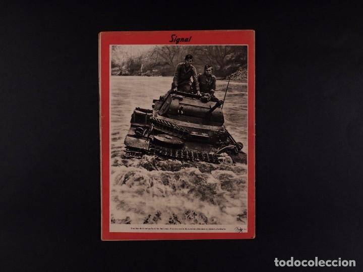 Coleccionismo de Revistas y Periódicos: REVISTA SIGNAL 1941 Nº 12 - Foto 2 - 68113289
