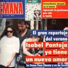 Coleccionismo de Revistas y Periódicos: SEMANA - Nº 2633 - 1 AGOSTO 1990. Lote 68245741