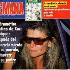 Coleccionismo de Revistas y Periódicos: SEMANA - Nº 2632 - 25 JULIO 1990. Lote 68245901