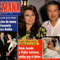 Coleccionismo de Revistas y Periódicos: SEMANA - Nº 2629 - 4 JULIO 1990. Lote 68246213