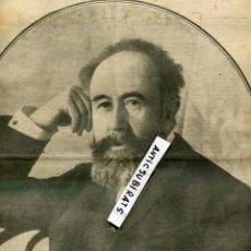Coleccionismo de Revistas y Periódicos: PERIODICO 1912 PINTOR AURELIANO DE BERUETE MARGARITA XIRGU BADALONA EMILIA PARDO BAZAN . Lote 68295821