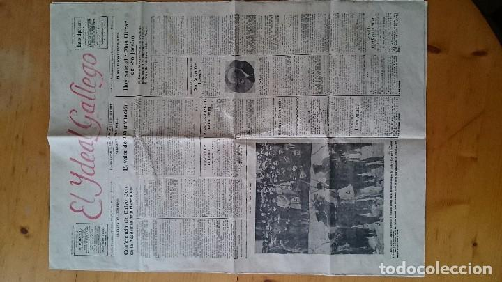 Coleccionismo de Revistas y Periódicos: DIARIO EL IDEAL GALLEGO AÑO X NUM 2523 CORUÑA 9 FEBRERO 1920 SALE EL PLUS ULTRA DE RIO DE JANEIRO - Foto 2 - 68311557