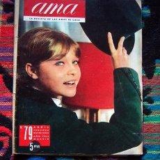 Coleccionismo de Revistas y Periódicos: REVISTA AMA 1963 / MARISOL, PEPA FLORES, NINA RICCI Y ++++. Lote 68404061