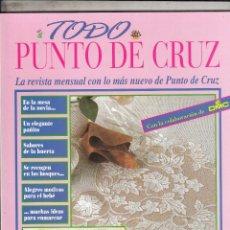 Coleccionismo de Revistas y Periódicos: REVISTA TODO PUNTO DE CRUZ DE ORBIS FABRI. . Lote 68468041