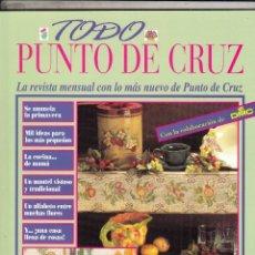 Coleccionismo de Revistas y Periódicos: REVISTA TODO PUNTO DE CRUZ DE ORBIS FABRI. . Lote 68468129