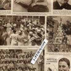 Coleccionismo de Revistas y Periódicos - REVISTA 1934 COLONIA ESCOLAR EN TORREMOLINOS CANTADORA GUITARRISTA FELISA GALE CUSTODIA ROMERO - 68552169