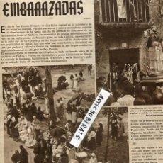 Coleccionismo de Revistas y Periódicos: REVISTA 1934 ROMERIA DE LAS EMBARAZADAS SAN RAMON DE BEALO EN BORIO GAITAS QUINTANILLA DEL AGUA. Lote 68648333