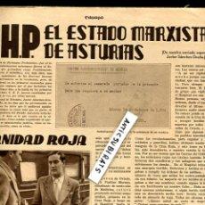 Coleccionismo de Revistas y Periódicos: REVISTA 1934 LA REVOLUCION ANARQUISTA ESTADO MARXISTA EN ASTURIAS DOCUMENTOS UHP GRADO MIERES . Lote 68683161
