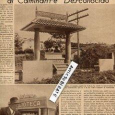 Coleccionismo de Revistas y Periódicos: REVISTA 1934 CAMINO DE SANTIAGO EN BARALLOBRE FENE MICKEY MOUSE MINNIE VIRGEN DE LA BLANCA SANTANDER. Lote 68689961