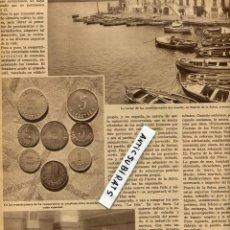 Coleccionismo de Revistas y Periódicos: REVISTA 1934 LAS MONEDAS DE EL PORT DE LA SELVA CASTILLO DE BUTRON ALCATRAZ USA. Lote 68690517