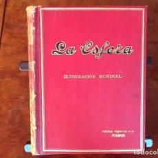 Coleccionismo de Revistas y Periódicos: LA ESFERA REVISTA ILUSTRACIÓN MUNDIAL TOMO I AÑO 1917 .DEL N* 158 AL 183 N* EXTRAORDINARIO 1 ENERO. Lote 68820286