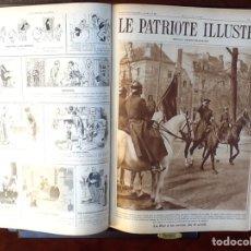 Coleccionismo de Revistas y Periódicos: LE PATRIOTE ILLUSTRE REVUE HEBDOMADAIRE..TOMO AÑO 1929.COMPLETO .52 REVISTAS. Lote 68824717