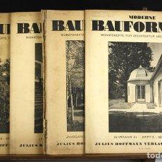 Coleccionismo de Revistas y Periódicos: 8243 - MODERNE BAUFORMEN. 5 REVISTAS ALEMANAS(VER DESCRIP). VV. AA. 1942/1944.. Lote 68839617