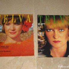 Coleccionismo de Revistas y Periódicos: LOTE DOS REVISTAS TELVA AÑO 1972 Y 1975. Lote 68899141