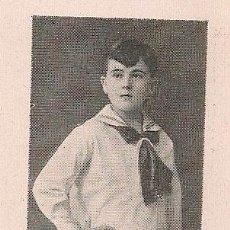 Coleccionismo de Revistas y Periódicos - Pianista Boris Bobillo, premio del Conservatorio - 1929 - 68951393