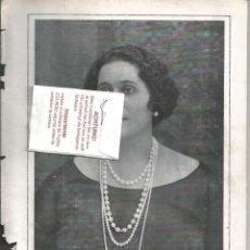 Coleccionismo de Revistas y Periódicos: BYN 23 MAR 1924.Nº 1714. RETRARTO MARQUESA DE AMBOAGE CENTENARIO ESCULTURAS JOSE CAPUZ VALENCIA. Lote 68953017