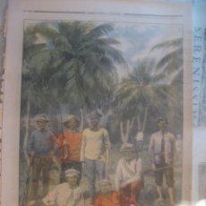 Coleccionismo de Revistas y Periódicos: GUERRA DE CUBA. GRABADO DE INSURGENTES CUBANOS. LE PETIT JOURNAL, MAYO 1898.. Lote 69013537