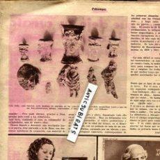 Coleccionismo de Revistas y Periódicos: REVISTA 1935 ALBUFERETA ZORITA CACERES MONFORTE DE LEMUS LAGO DE CARUCEDO PONFERRADA NURIA BLOQUEADA. Lote 70292701