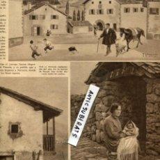 Coleccionismo de Revistas y Periódicos: 1935 VALLE DEL BAZTAN ARIZCUN SALVATIERRA DE LOS BARROS CASTILLO DE CAPILLA BURGUILLOS ALBURQUERQUE. Lote 69053009