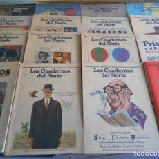 Coleccionismo de Revistas y Periódicos: LOS CUADERNOS DEL NORTE. LOTE DE 24 NUMEROS. REVISTA CULTURAL DE LA CAJA DE AHORROS DE ASTURIAS. AÑO. Lote 69061957