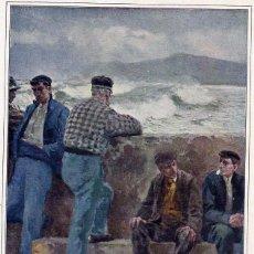 Coleccionismo de Revistas y Periódicos: MARTINEZ ABADES 1912 TREGUA ILUSTRACION HOJA REVISTA. Lote 69087389