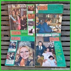 Coleccionismo de Revistas y Periódicos: LOTE SM. 8.....4 REVISTAS SEMANA AÑO 74. Lote 69098713
