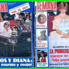 Coleccionismo de Revistas y Periódicos: LOTE SM. 4.....2 REVISTAS SEMANA. Lote 69102189