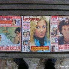 Coleccionismo de Revistas y Periódicos: LOTE LECT.12.....3 REVISTAS SEMANA. Lote 69107453