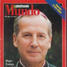 Coleccionismo de Revistas y Periódicos: MUNDO CRISTIANO 82 PAGINAS ESPAÑA MARZO 1996 *. Lote 69364937
