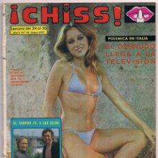 Coleccionismo de Revistas y Periódicos: CHISS # 45 / 1977 ~ ELEONORA GIORGI ~ LIBERTAD LEBLANC ~ UN DOS TRES ~ DIANA RIGG ~ SILVANA SANDOVAL. Lote 69416061
