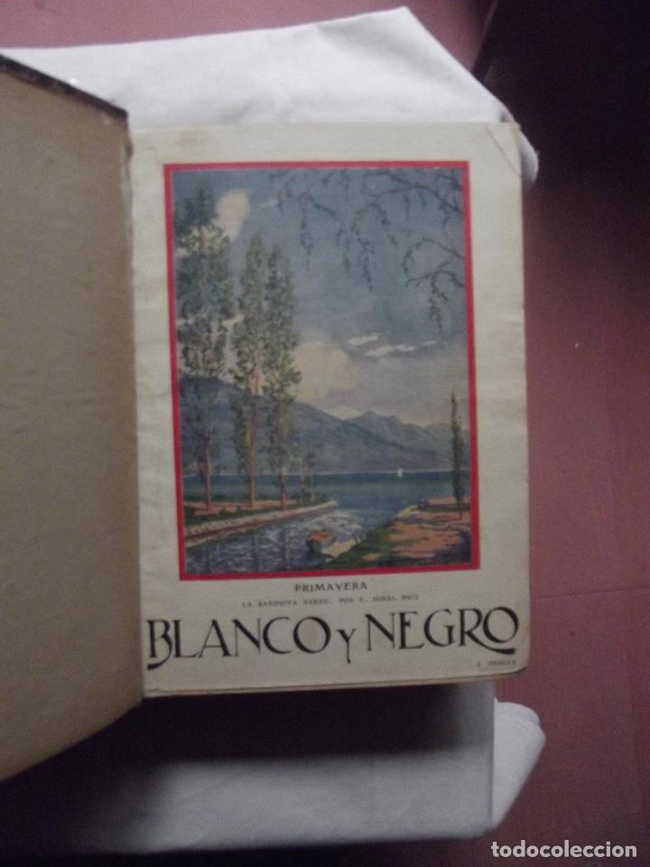 Coleccionismo de Revistas y Periódicos: REVISTAS BLANCO Y NEGRO 1927 ENCUADERNADAS 2 TOMOS - Foto 3 - 69525225