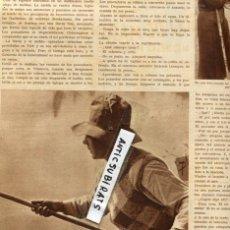 Colecionismo de Revistas e Jornais: REVISTA 1936 LOS PESCADORES Y LAS PESCADORAS CON DE CAÑA EN VIC VICH EN LA PRESA DEL MOLINO DE SAU . Lote 69534521