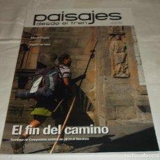 Coleccionismo de Revistas y Periódicos: PAISAJES DESDE EL TREN SEGUNDA EPOCA AÑO 2010 CUATRO REVISTAS. Lote 69651689