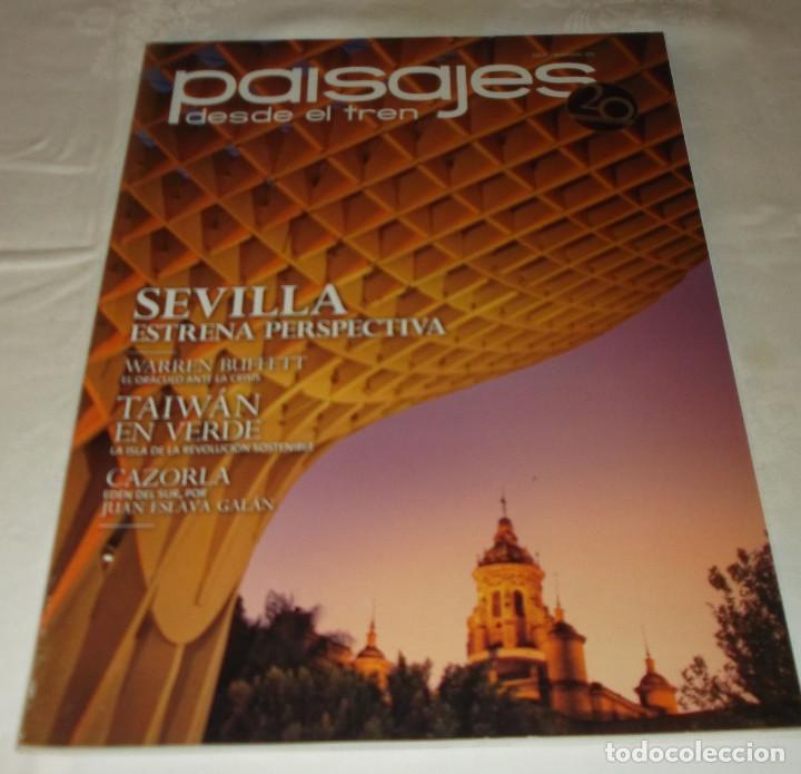 PAISAJES DESDE EL TREN AÑO 2011- 2012 TRES REVISTAS (Coleccionismo - Revistas y Periódicos Modernos (a partir de 1.940) - Otros)