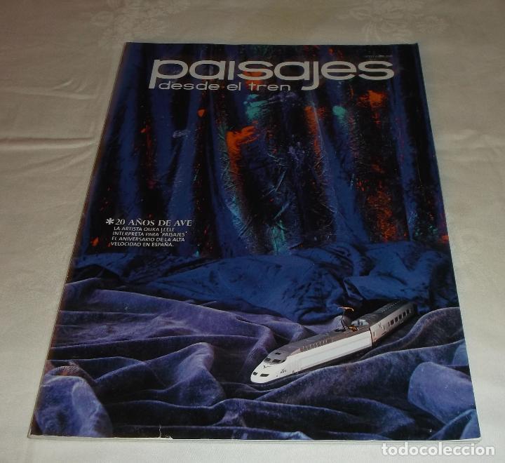 Coleccionismo de Revistas y Periódicos: paisajes desde el tren año 2011- 2012 tres revistas - Foto 2 - 69652057