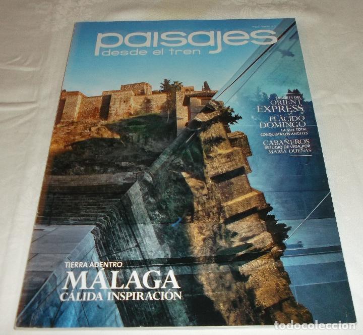 Coleccionismo de Revistas y Periódicos: paisajes desde el tren año 2011- 2012 tres revistas - Foto 3 - 69652057