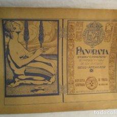 Coleccionismo de Revistas y Periódicos: ANTIGUA REVISTA PANORAMA - MADRID 29 DE NOVIEMBRE 1928 - Nº 54 . Lote 117173096