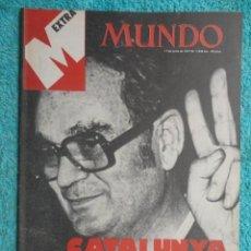 Coleccionismo de Revistas y Periódicos: REVISTA MUNDO Nº 1930 AÑO 1977 EXTRA , CATALUNYA AMANECIO SOCIALISTA -UN CENTRO MUY MEDIDO.. Lote 69718465