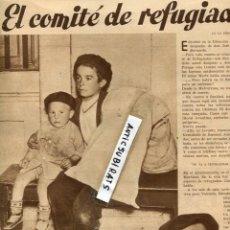 Coleccionismo de Revistas y Periódicos: REVISTA 1936 GUERRA CIVIL COMITE DE REFUGIADOS COMPAÑIA LINA ODENA. Lote 69733385