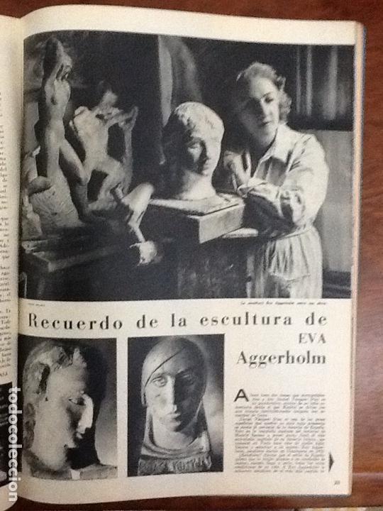 Coleccionismo de Revistas y Periódicos: SUSANA POLAC .ESCULTURA GLORIA MERINO PINTORA EVA AGGERHOLM ESCULTURA.REVISTA AÑO 1959 - Foto 3 - 69860831