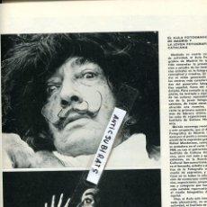 Coleccionismo de Revistas y Periódicos: REVISTA 1975 PINTOR FRANCISCO ARIAS FOTOGRAFO TONI VIDAL TONI CATANY JOAN MIRO DALI TAPIES. Lote 69889913