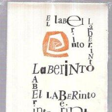 Coleccionismo de Revistas y Periódicos: EL LABERINTO. MADRID, ENERO 1957. LEOPOLDO DE LUIS. VICENTE NÚÑEZ. PÍO BAROJA. GABRIEL MISTRAL.. Lote 69921389