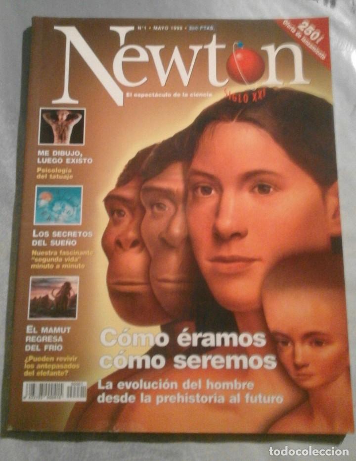 NEWTON - Nº 1 - MAYO 1998 - CÓMO ÉRAMOS CÓMO SEREMOS (Coleccionismo - Revistas y Periódicos Modernos (a partir de 1.940) - Otros)