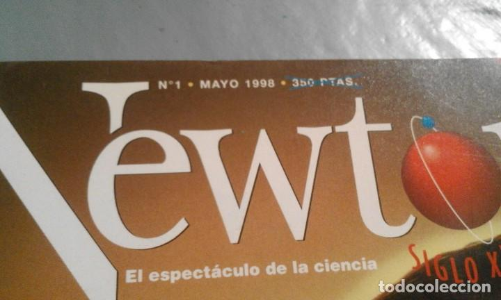 Coleccionismo de Revistas y Periódicos: Newton - nº 1 - Mayo 1998 - Cómo éramos cómo seremos - Foto 2 - 69947561