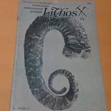 Coleccionismo de Revistas y Periódicos: REVISTA LITHOS DICIEMBRE 1980. Lote 69998529